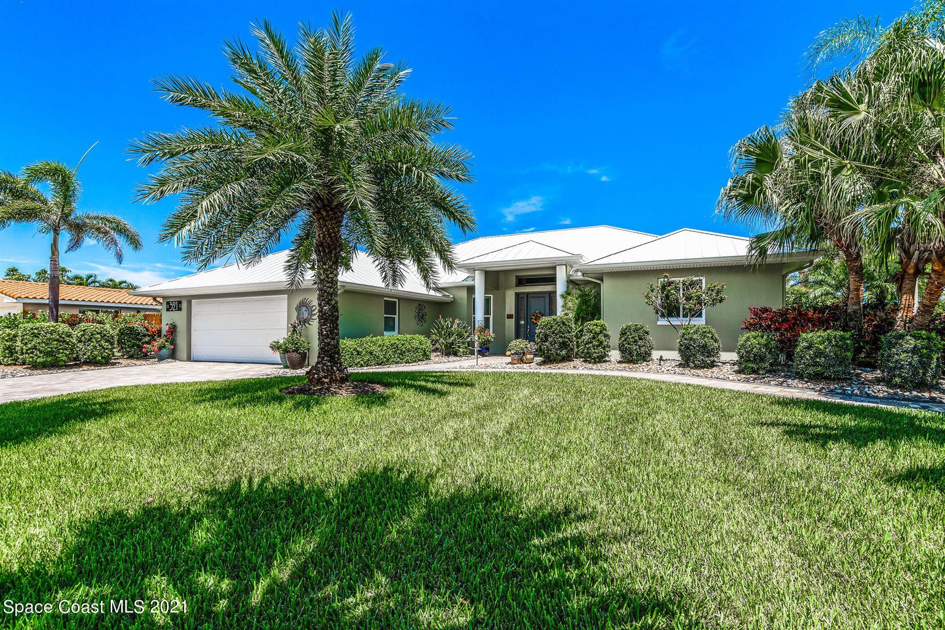 321 Hibiscus Trail, Melbourne Beach, FL 32951 - #: 910609