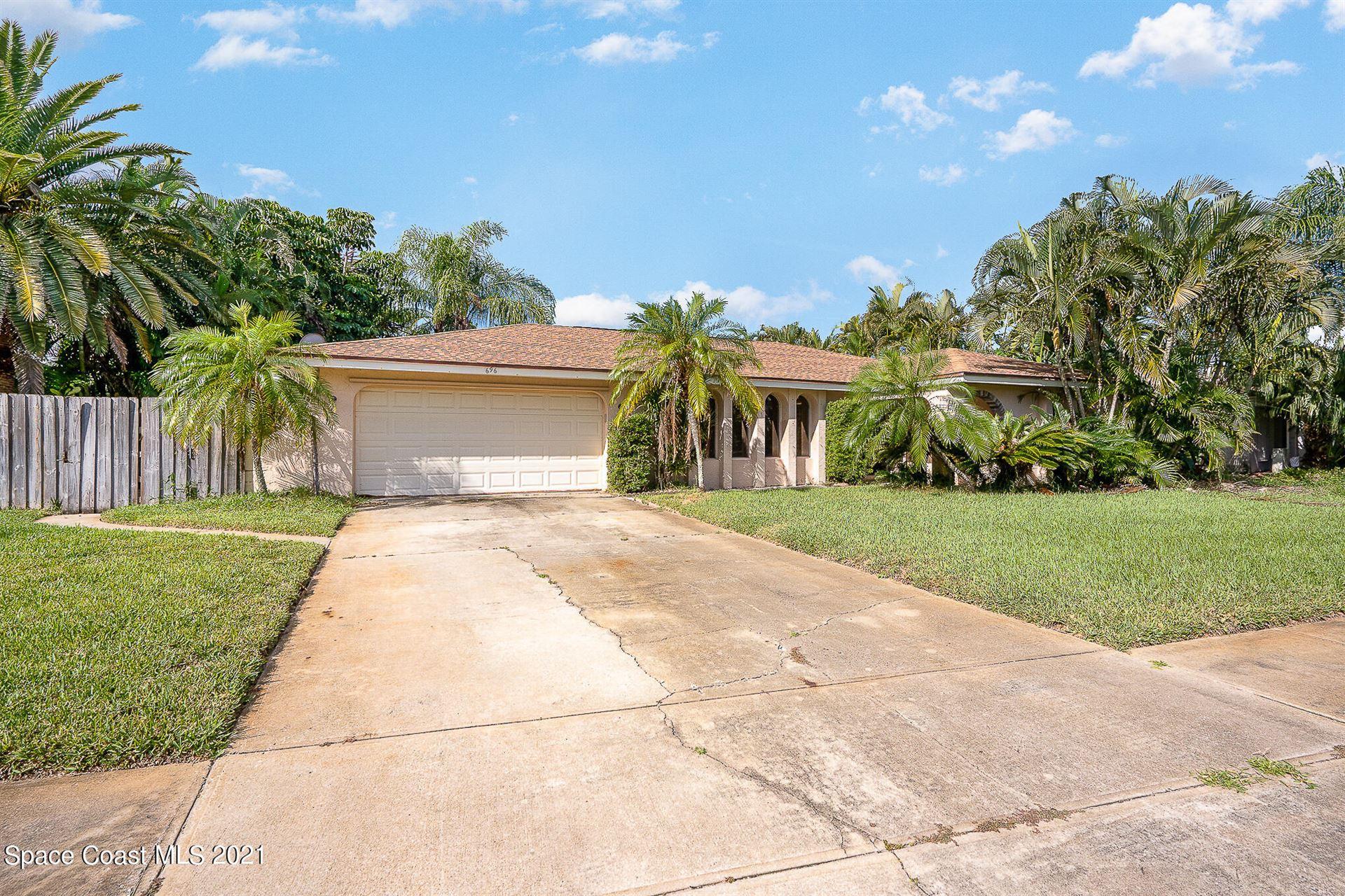 696 Caribbean Drive, Satellite Beach, FL 32937 - #: 918643