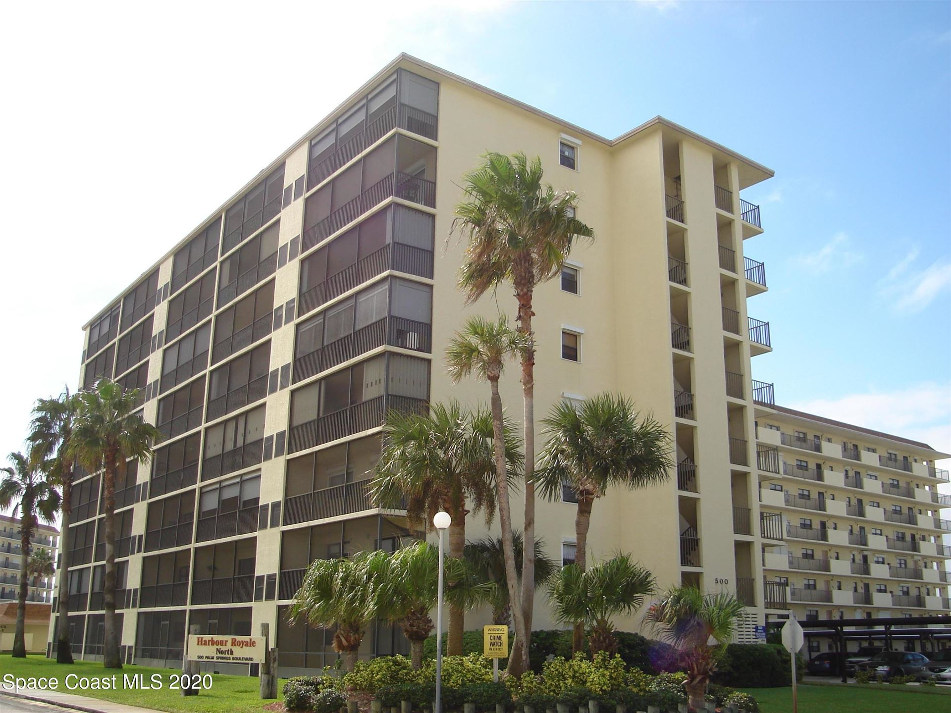 500 Palm Springs Boulevard #306, Indian Harbour Beach, FL 32937 - #: 896651
