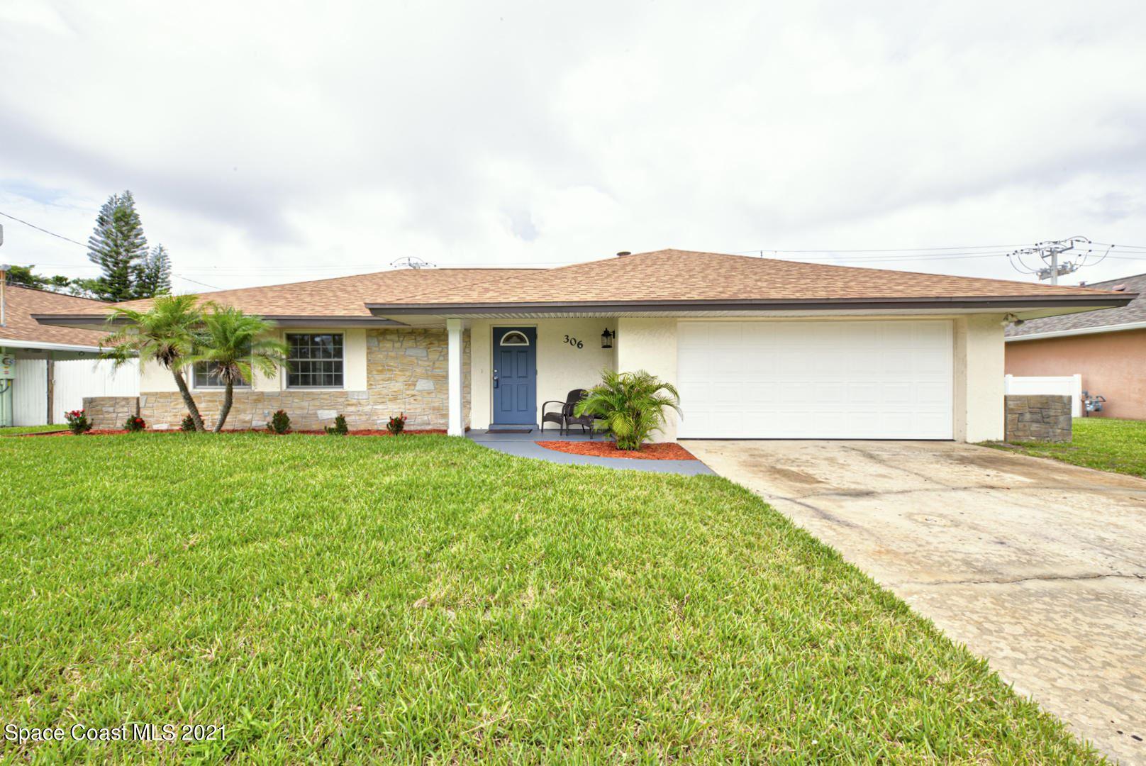 306 School Road, Indian Harbour Beach, FL 32937 - #: 908651