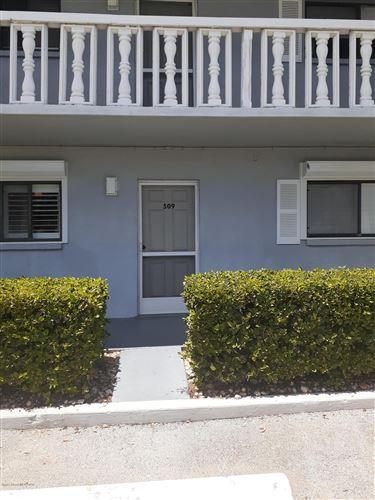 Photo of 3799 S Banana River Boulevard #509, Cocoa Beach, FL 32931 (MLS # 881655)