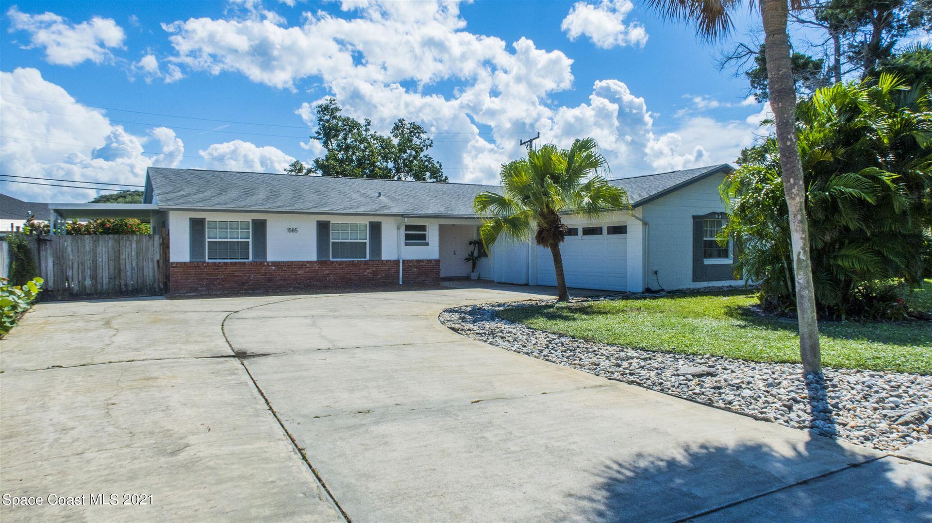 1585 S Harbor Drive, Merritt Island, FL 32952 - #: 916658