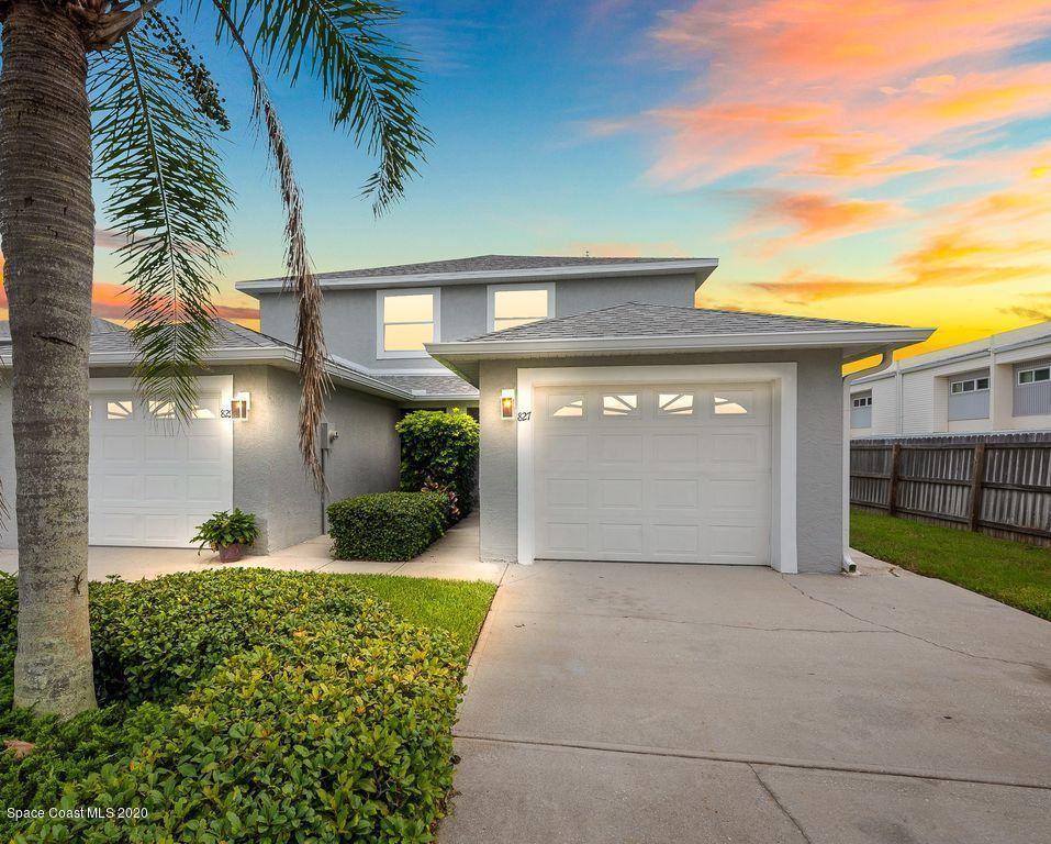 827 Poinsetta Drive, Indian Harbour Beach, FL 32937 - #: 878667
