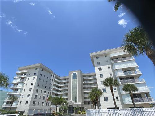 Photo of 3740 Ocean Beach Boulevard #406, Cocoa Beach, FL 32931 (MLS # 881668)