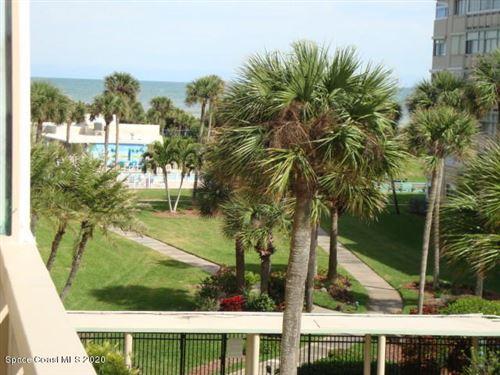 Photo of 2020 N Atlantic Avenue #402, Cocoa Beach, FL 32931 (MLS # 871673)