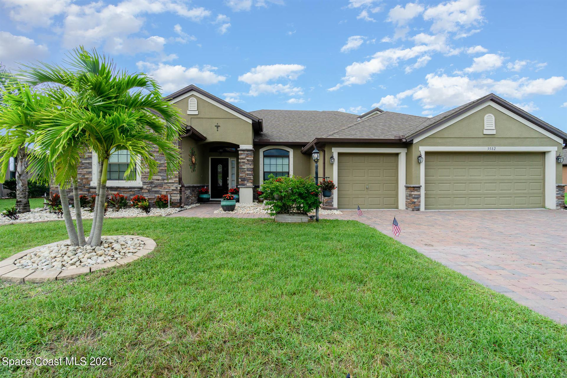 3582 Rushing Waters Drive, Melbourne, FL 32904 - #: 909695