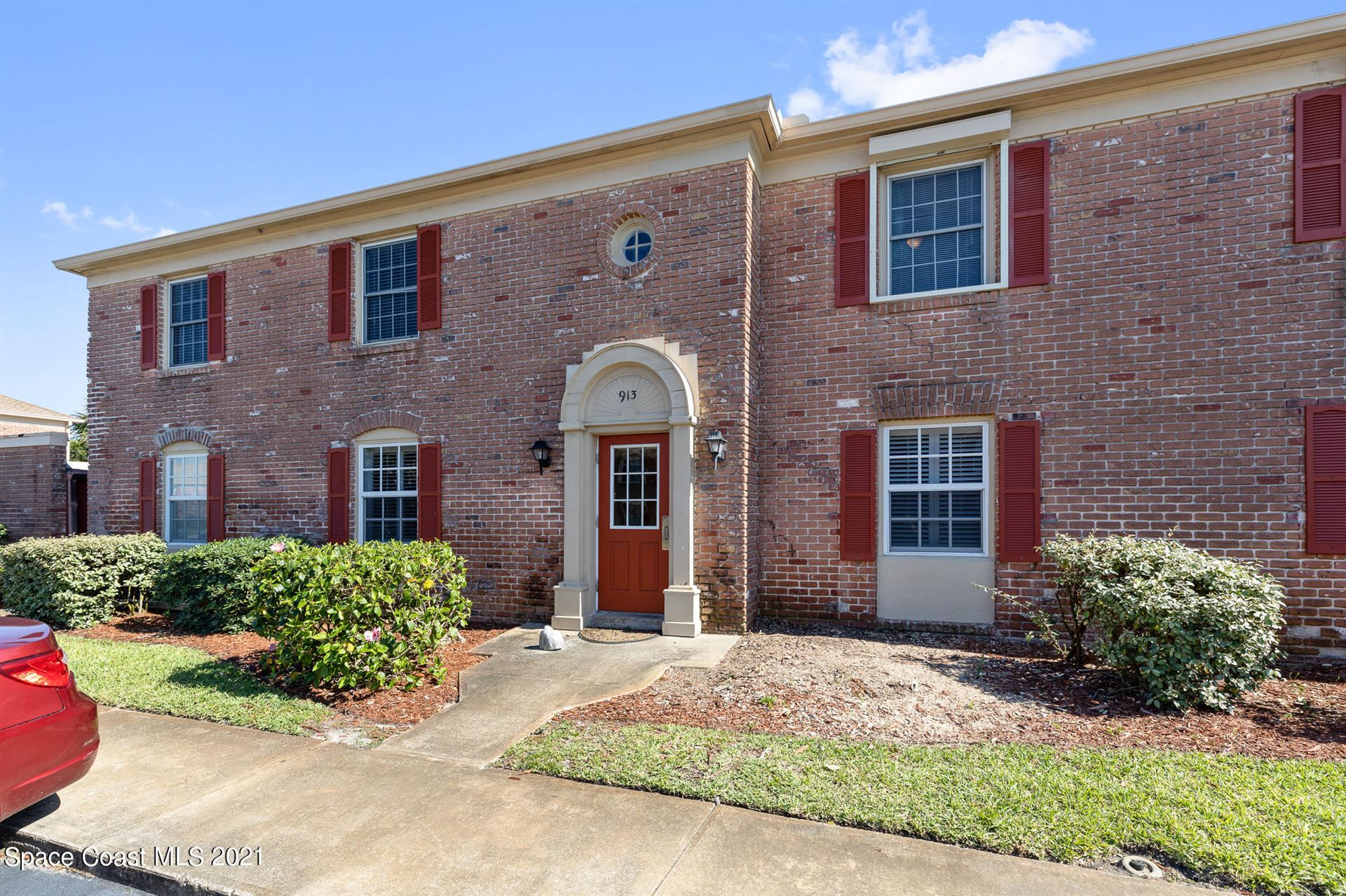 913 S Colonial Court #D, Indian Harbour Beach, FL 32937 - #: 904705