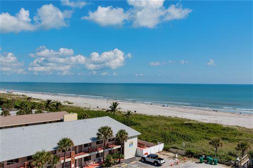 Photo of 1050 N Atlantic Avenue #703, Cocoa Beach, FL 32931 (MLS # 887708)