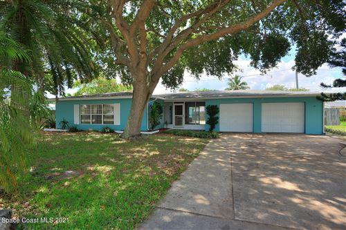 Photo of 555 Cinnamon Drive, Satellite Beach, FL 32937 (MLS # 911715)