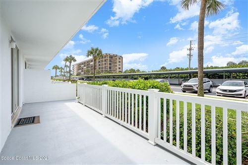 Photo of 3190 N Atlantic Avenue #124, Cocoa Beach, FL 32931 (MLS # 908724)