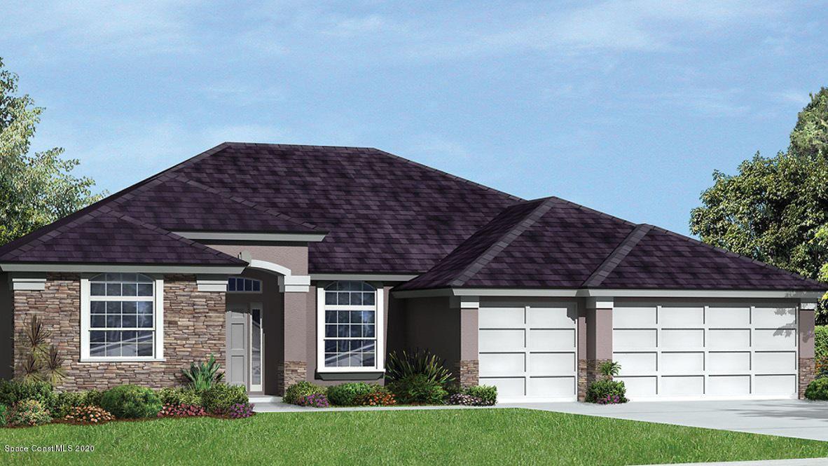 655 Gleneagles Drive, Palm Bay, FL 32909 - #: 894730