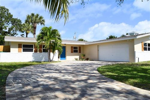 Photo of 206 Timpoochee Drive, Indian Harbour Beach, FL 32937 (MLS # 868734)