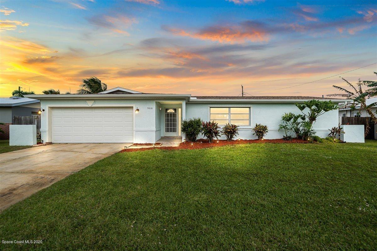 966 Golden Beach Boulevard, Indian Harbour Beach, FL 32937 - #: 890744