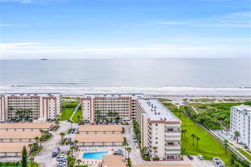 Photo of 1830 N Atlantic Avenue #C106, Cocoa Beach, FL 32931 (MLS # 881753)