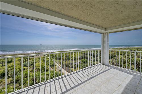 Photo of 3400 Ocean Beach Boulevard #612, Cocoa Beach, FL 32931 (MLS # 903753)