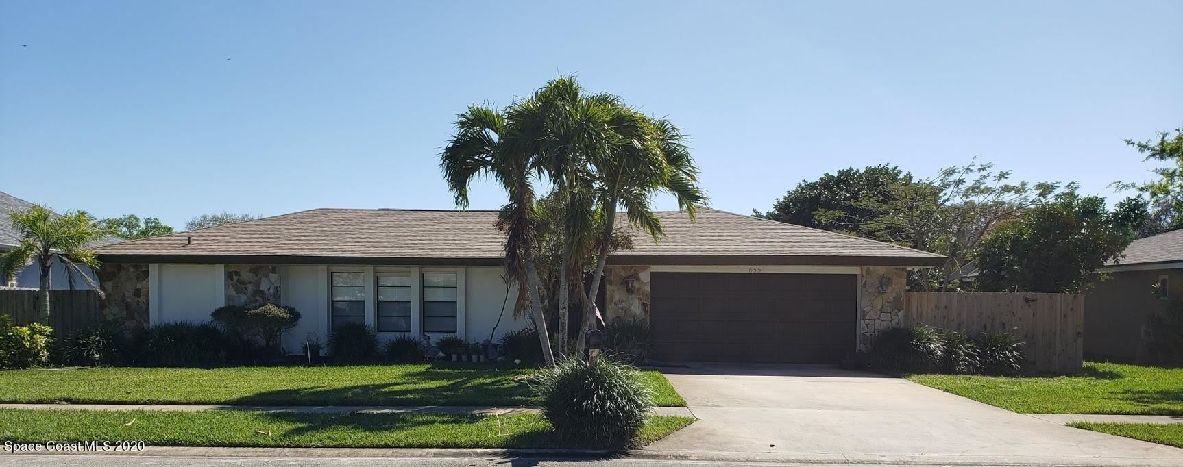 655 Mark And Randy Drive, Satellite Beach, FL 32937 - #: 897760