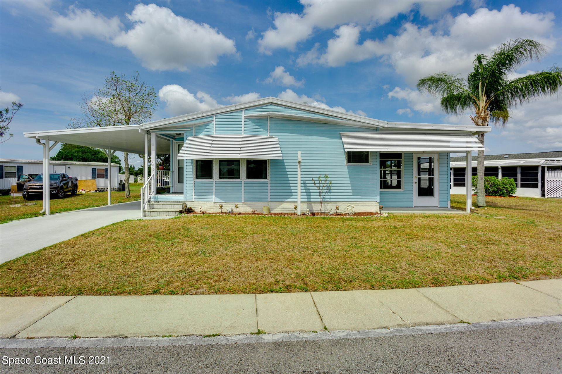 245 Holiday Park Boulevard, Palm Bay, FL 32907 - #: 900766