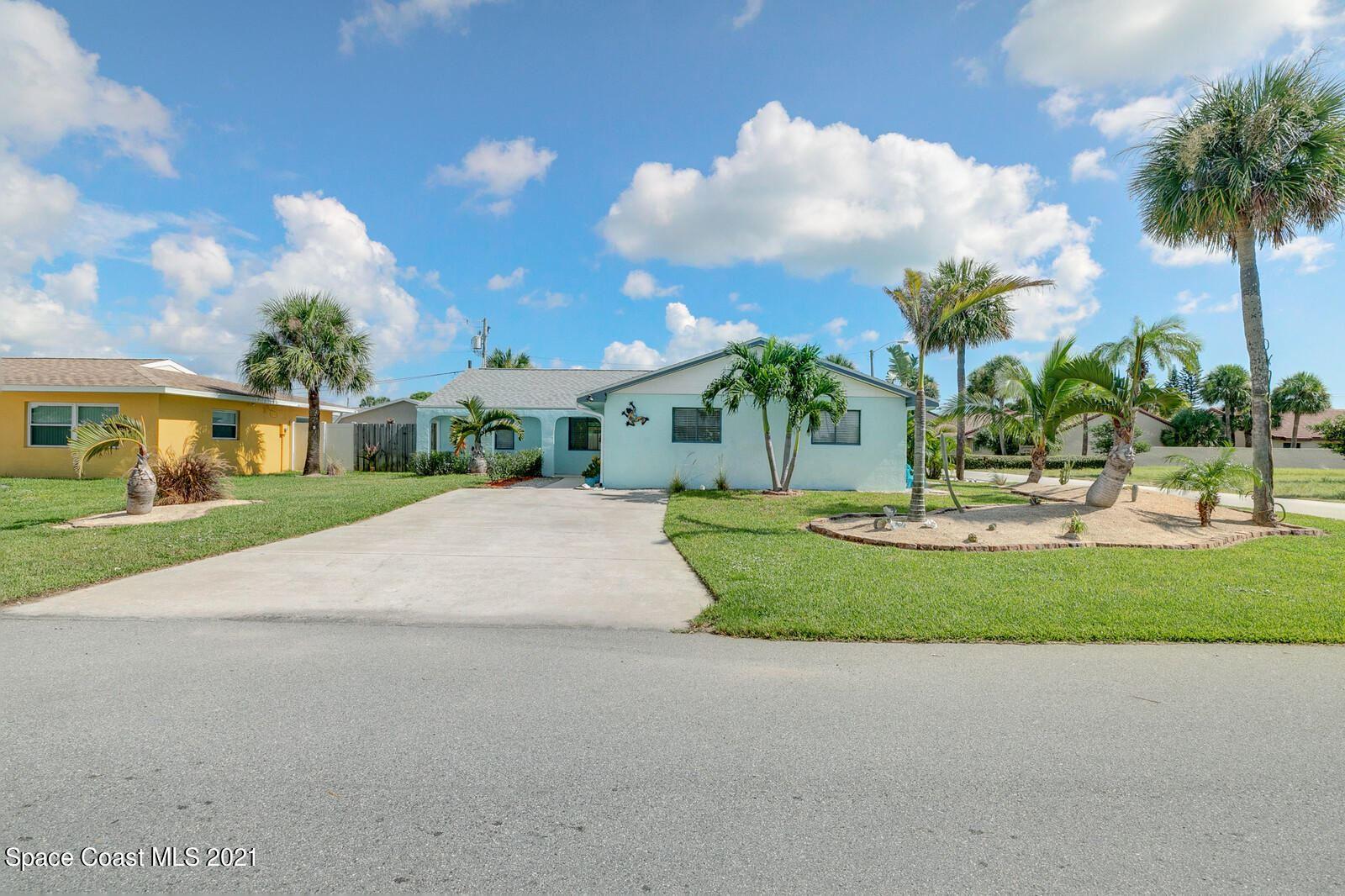 300 Bahama Drive, Indialantic, FL 32903 - #: 911772