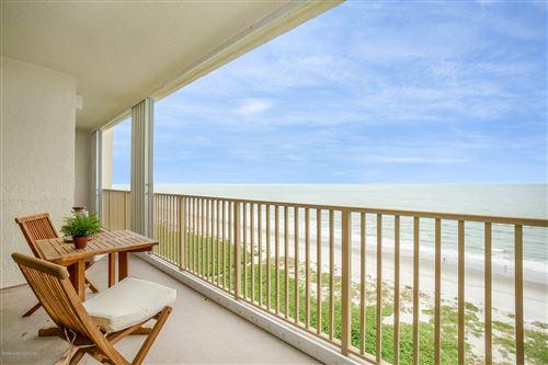 Photo of 750 N Atlantic Avenue #1404, Cocoa Beach, FL 32931 (MLS # 886773)