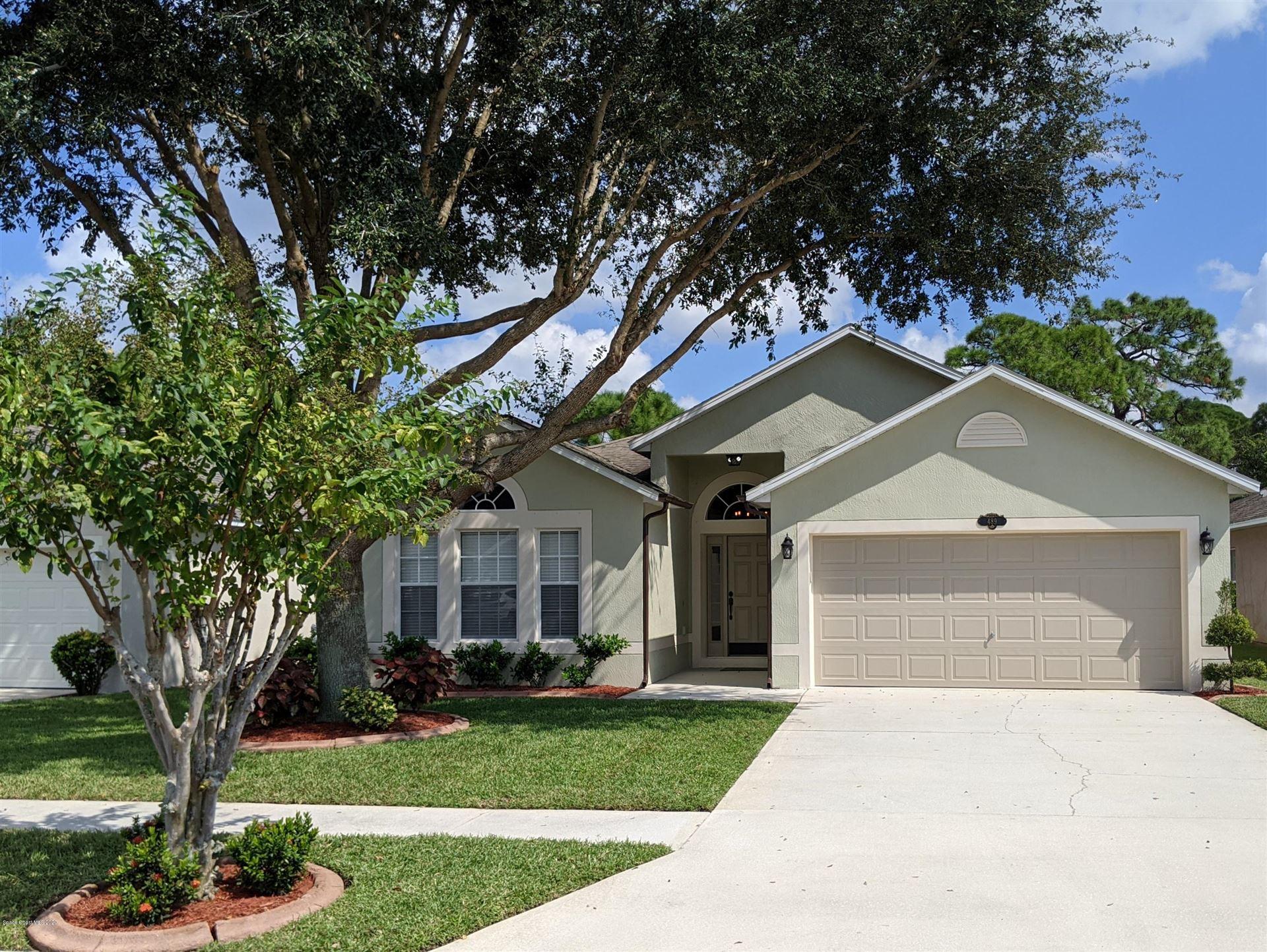 489 Macon Drive, Titusville, FL 32780 - #: 887793