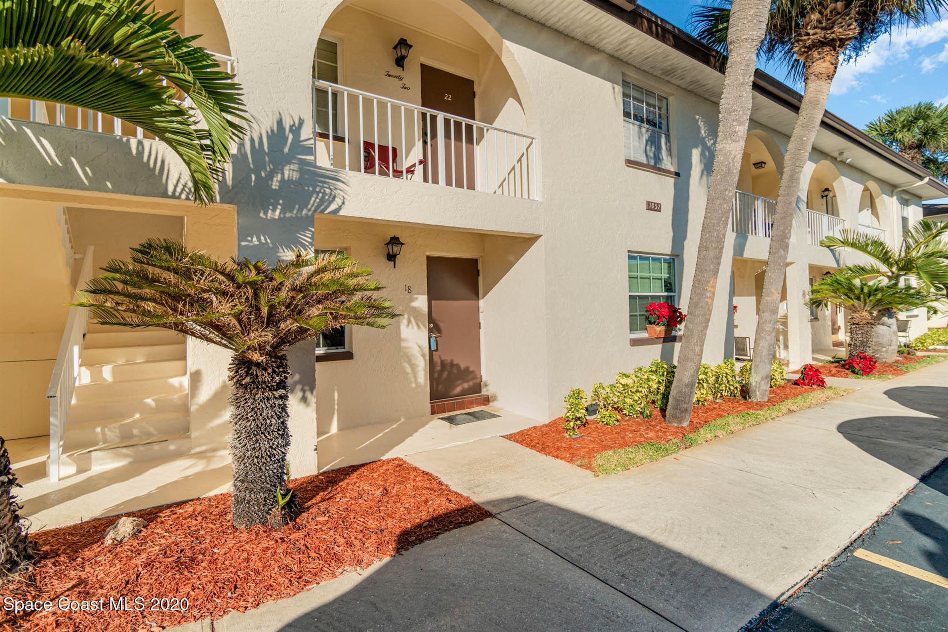 1057 Small Court #18, Indian Harbour Beach, FL 32937 - #: 893825
