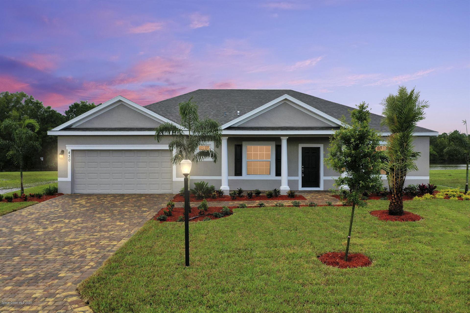 443 Biscayne Avenue, Palm Bay, FL 32907 - #: 884832