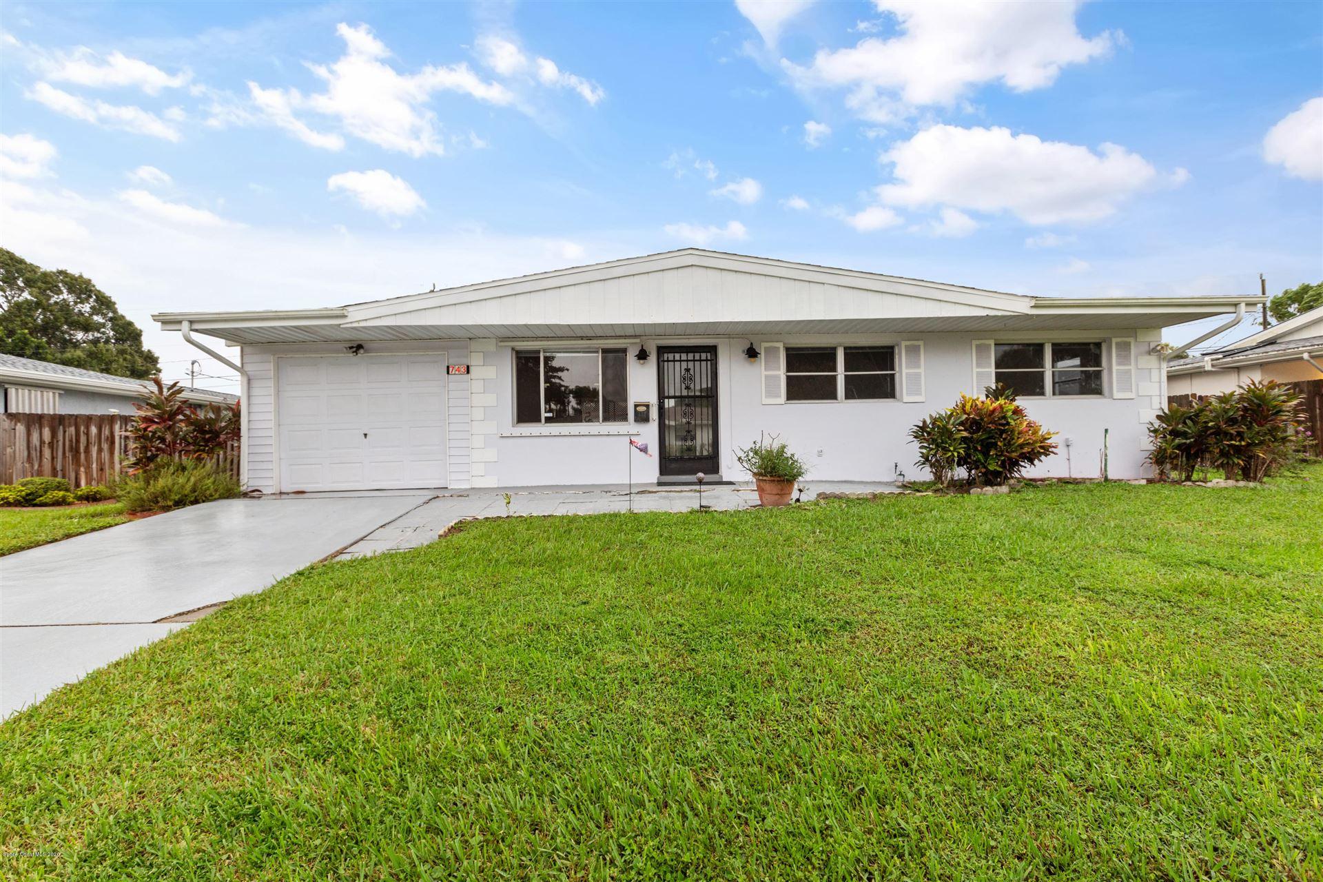 743 Badger Drive, Palm Bay, FL 32905 - #: 885841