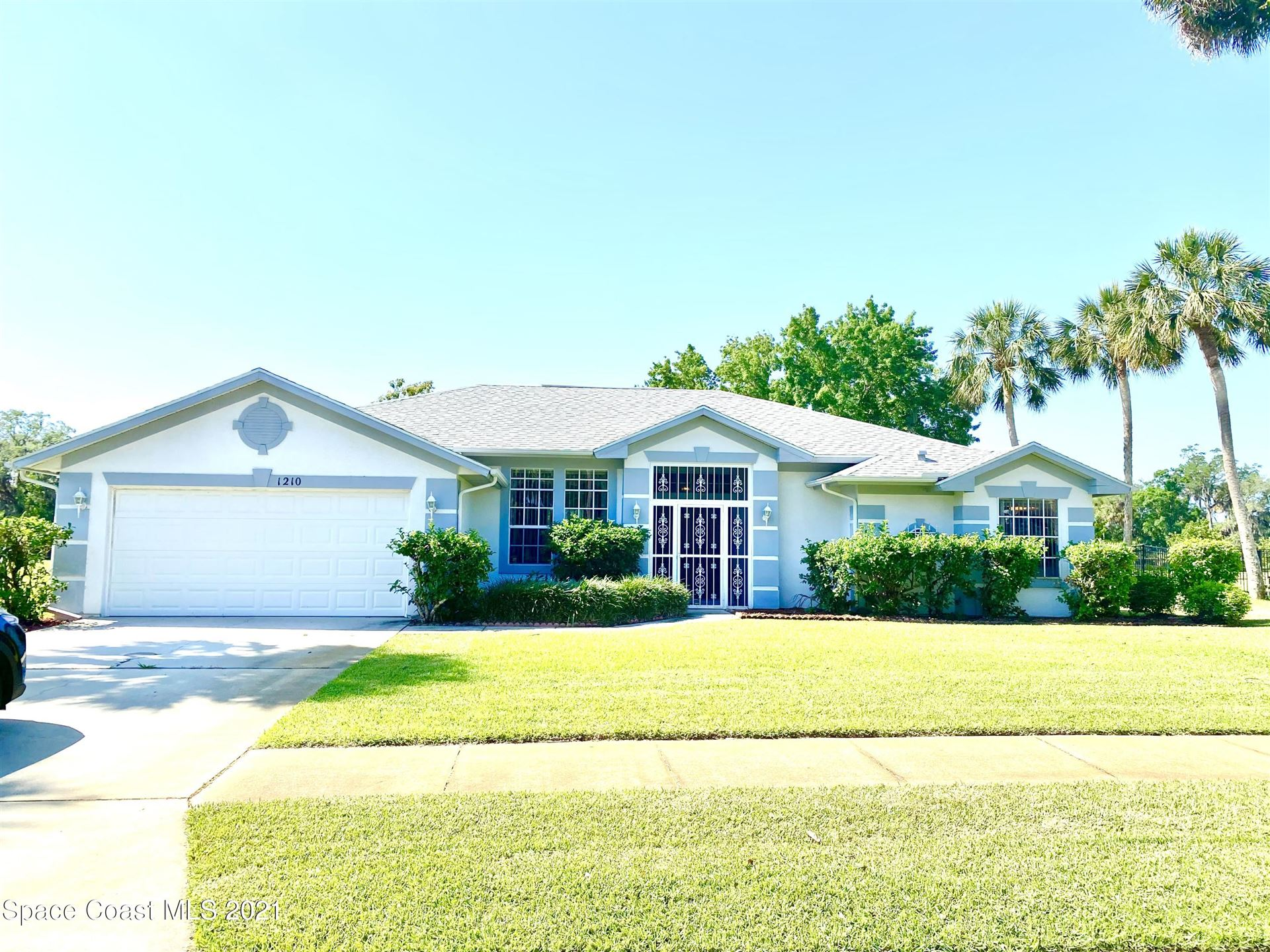 1210 Meadowbrook Road, Palm Bay, FL 32905 - #: 901873