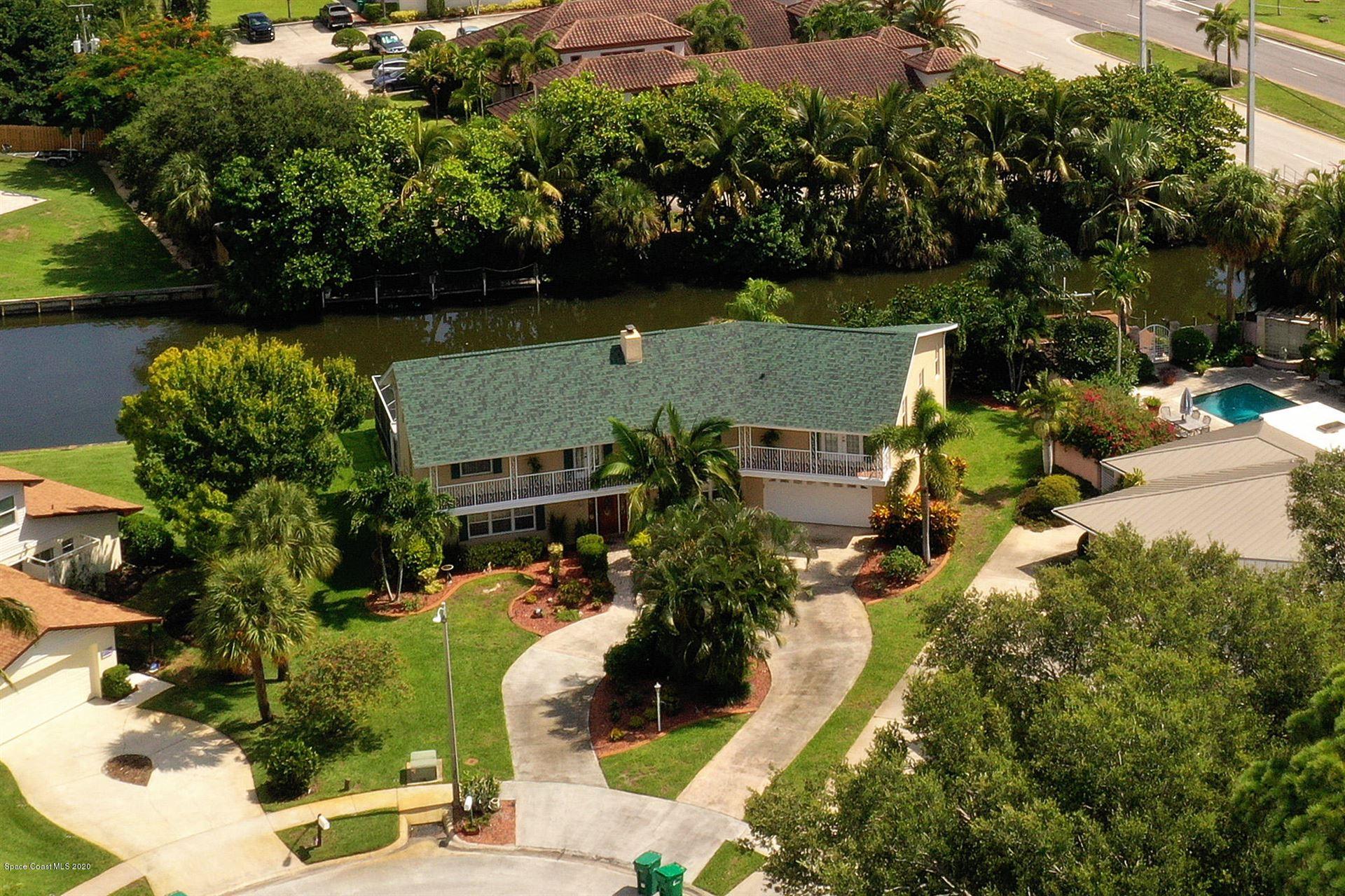 6 Yacht Club Lane, Indian Harbour Beach, FL 32937 - #: 879881