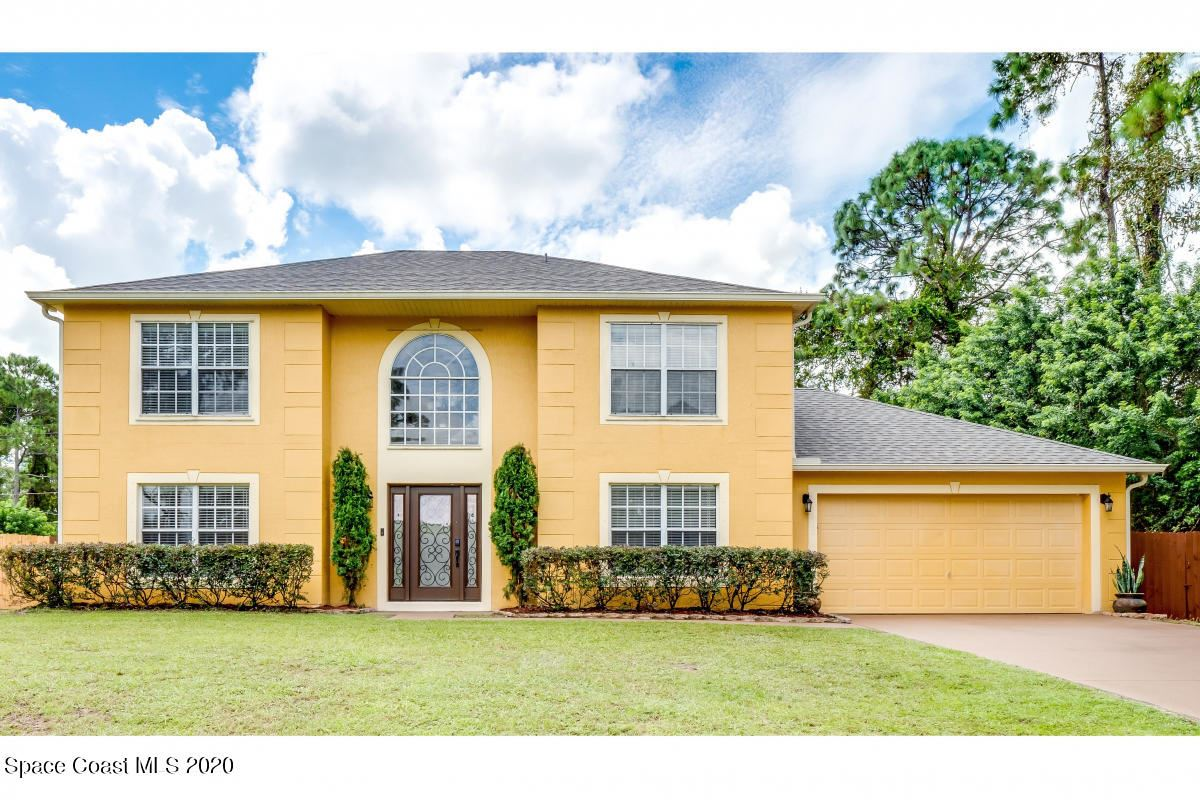 1412 Hayworth Circle, Palm Bay, FL 32907 - #: 887890