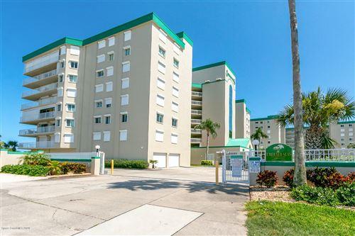 Photo of 3400 Ocean Beach Boulevard #411, Cocoa Beach, FL 32931 (MLS # 877891)