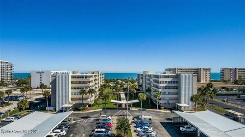 Photo of 2020 N Atlantic Avenue #509s, Cocoa Beach, FL 32931 (MLS # 898902)