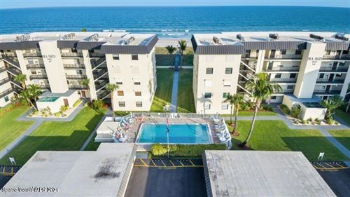 Photo of 4570 Ocean Beach Boulevard #106, Cocoa Beach, FL 32931 (MLS # 898910)