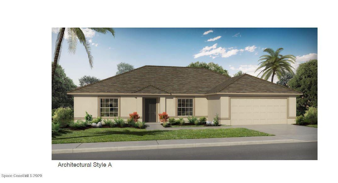 1341 SE Beche Street, Palm Bay, FL 32909 - #: 880920