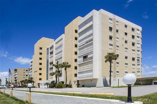Photo of 3221 S Atlantic Avenue #303, Cocoa Beach, FL 32931 (MLS # 887923)