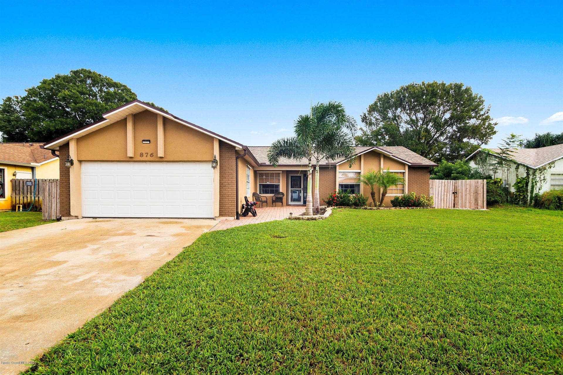 876 Yellow Pine Avenue, Rockledge, FL 32955 - #: 889940