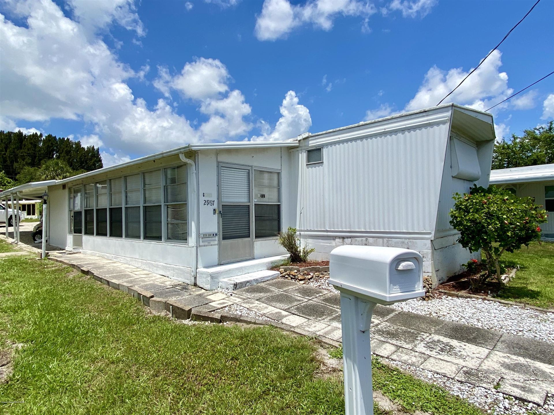 2967 Indian River Drive, Palm Bay, FL 32905 - #: 889943