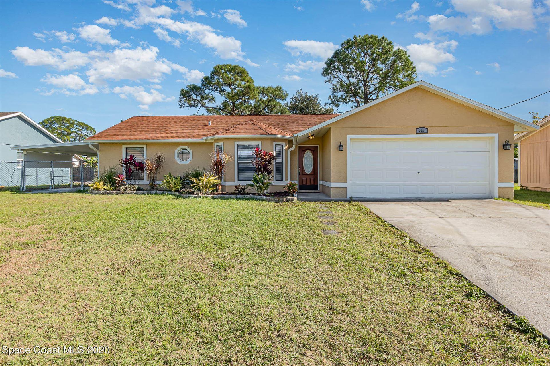 6581 Bancroft Avenue, Cocoa, FL 32927 - #: 892947