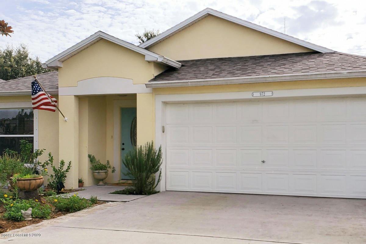 972 Brumpton Place, Rockledge, FL 32955 - #: 884953
