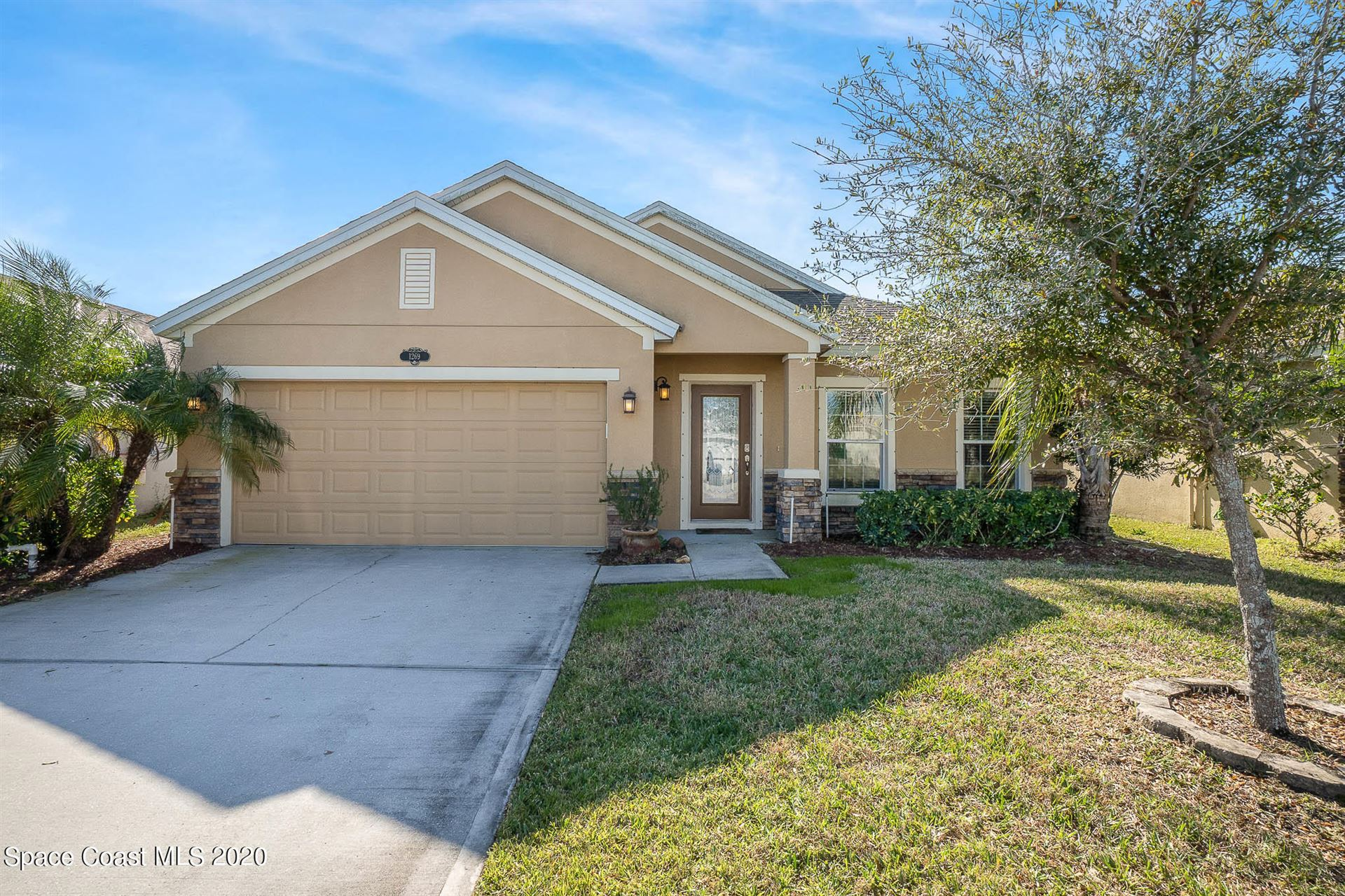 1269 Corbett Lane, West Melbourne, FL 32904 - #: 893953