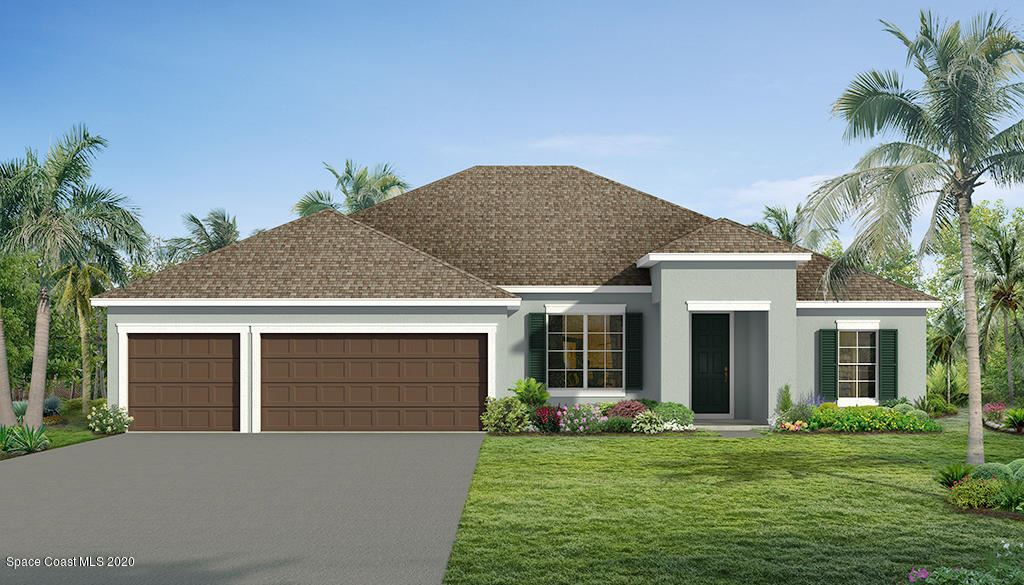 557 J T Sancho Street, Palm Bay, FL 32908 - #: 902997