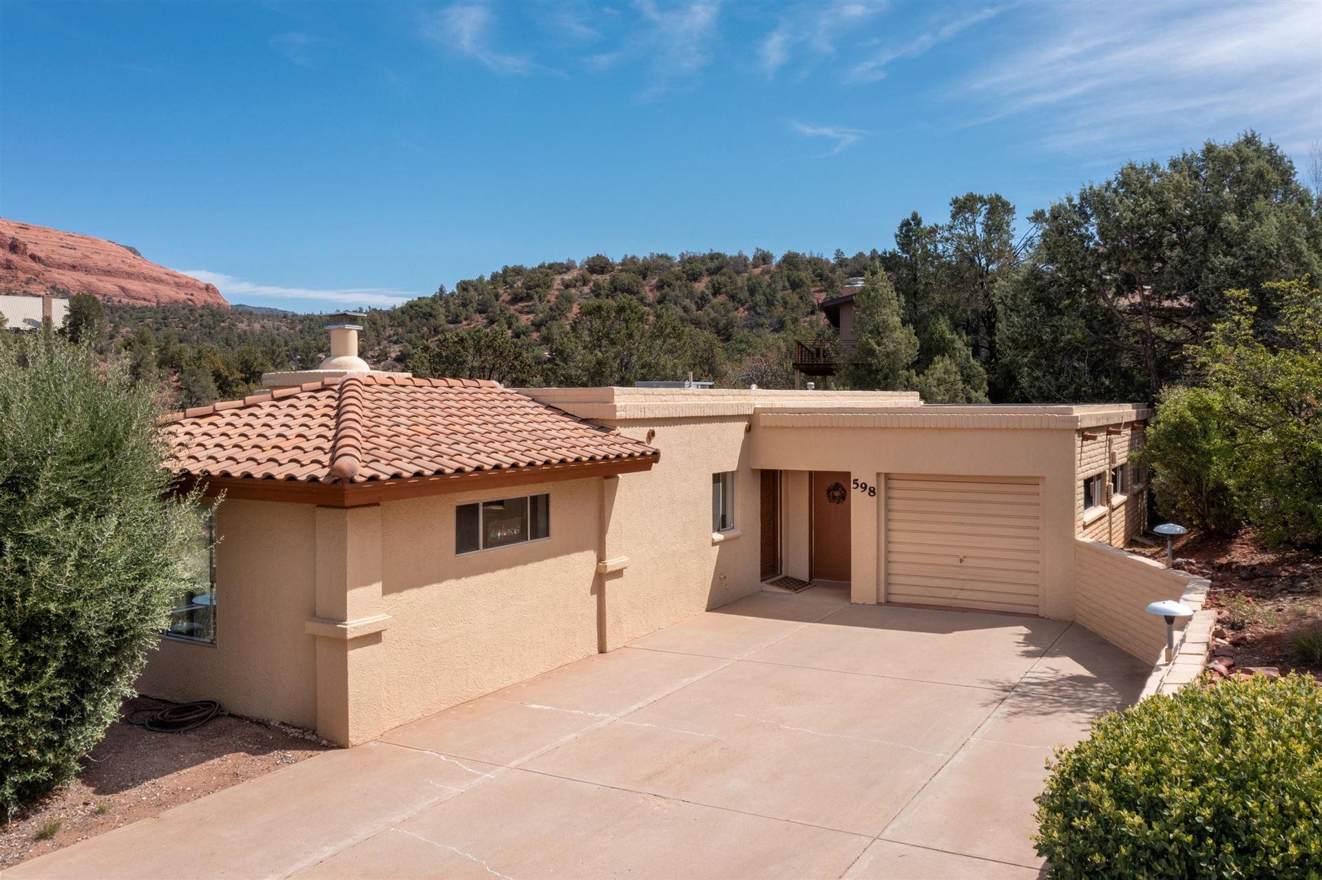 Photo of 598 Circle Drive, Sedona, AZ 86336 (MLS # 526053)