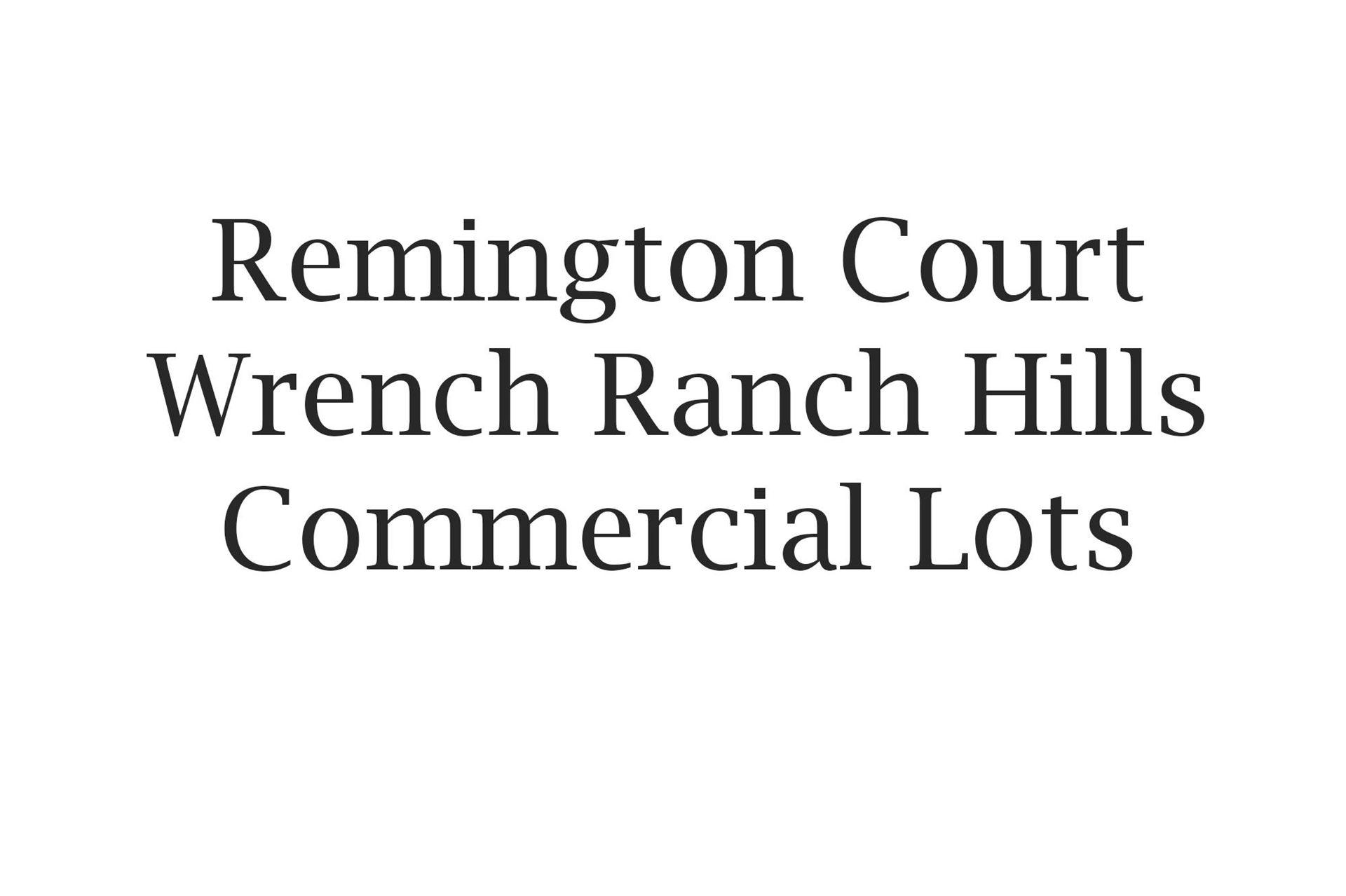 Photo for 1085 Remington Court #Lot 4, Sheridan, WY 82801 (MLS # 19-360)