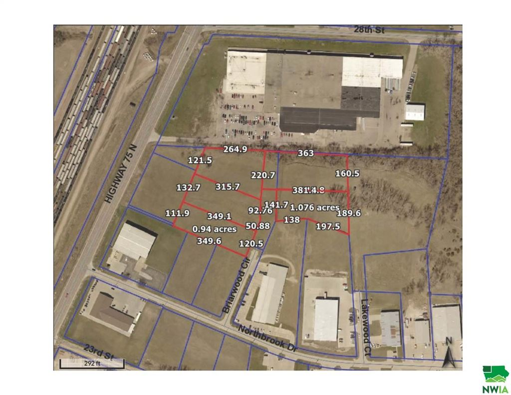 Photo for TBD Lot 2 Briarwood Circle, Sioux City, IA 51105 (MLS # 805957)