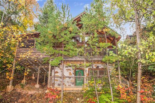 Photo of 1609 Misty Hollow Way Bear's Treehouse, Gatlinburg, TN 37738 (MLS # 240968)