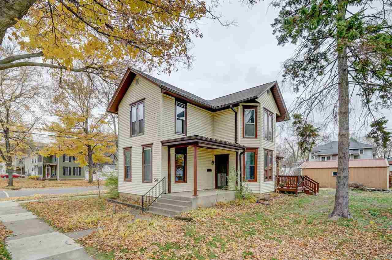 54 N 2nd St, Evansville, WI 53536 - #: 1897018