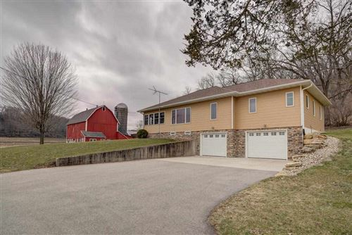 Photo of 4419 County Road F, Blue Mounds, WI 53517 (MLS # 1880019)