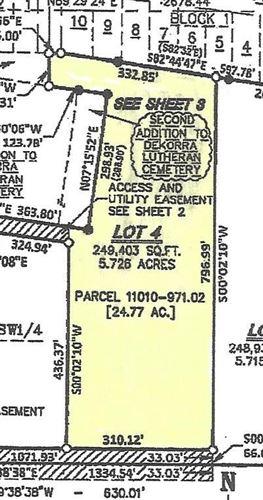 Photo of L4 Corning St, Poynette, WI 53955 (MLS # 1906067)