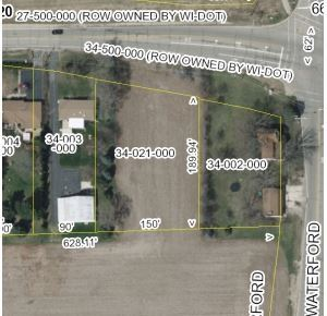 Photo of 0.7 Ac High St, Waterford, WI 53185 (MLS # 1869105)