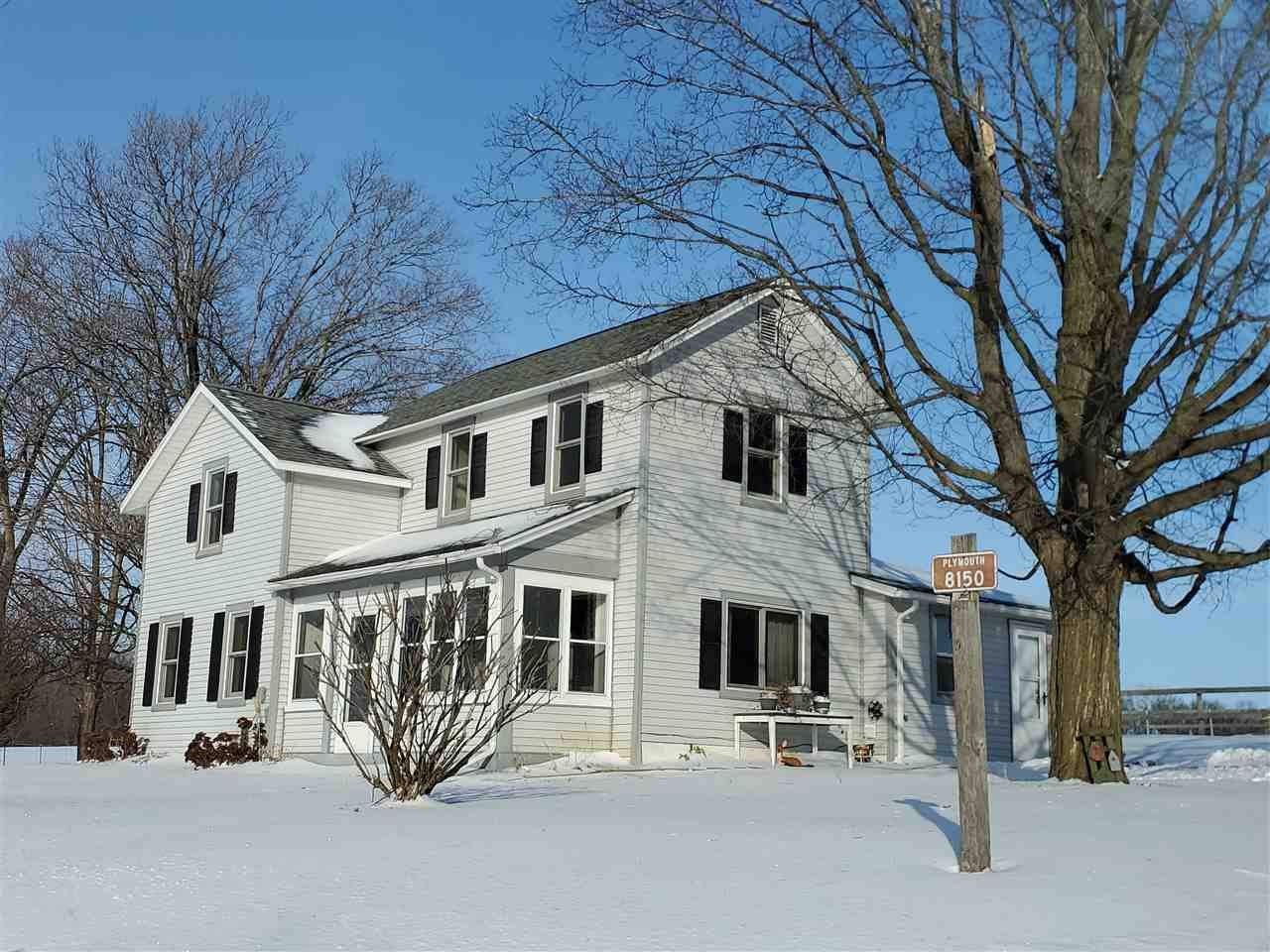 8150 W Plymouth Church Rd, Orfordville, WI 53076 - MLS#: 1859131